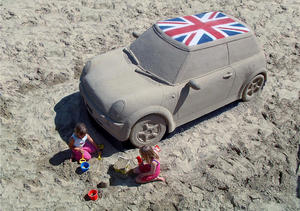 Mini-sandcastle